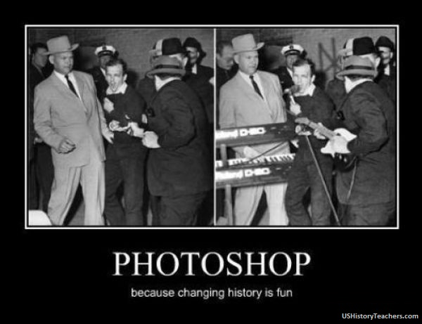 how to change history in photoshop