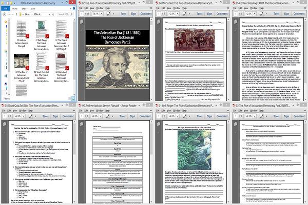 Andrew Jackson Lesson Plan – Andrew Jackson Worksheet