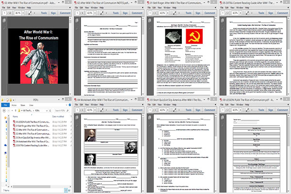 The Rise of Communism after WWI _WWIx7x10o69