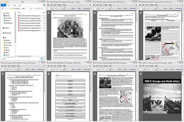 WW2 in Europe Dday and Allied Victory – Ww2 Worksheets
