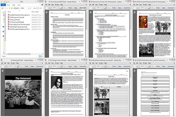World War 2 and The Holocaust WW2x02x09o86