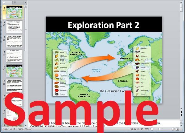 Columbian Exchange Lesson Plan Age Of Exploration