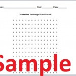 Columbian Exchange Worksheet Word Search