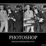 Photoshop: Because changing history is fun