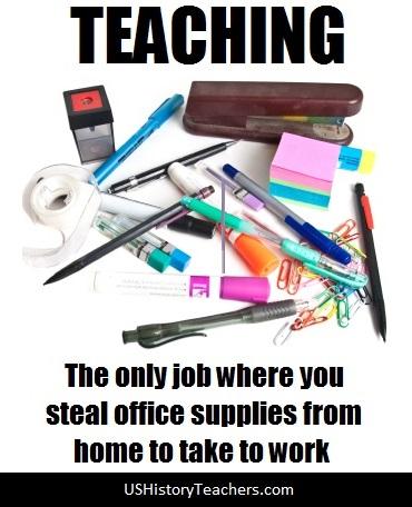 Teaching Office Supplies