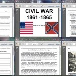 Contents of The Civil War Begins
