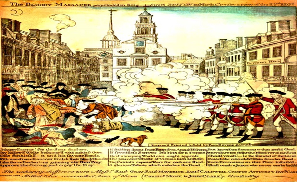 american revolution the boston massacre
