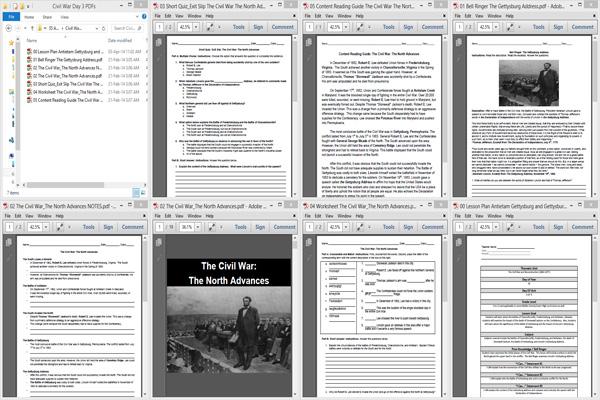 Antietam, Gettysburg and The Gettysburg Address _CIVx03x09o35